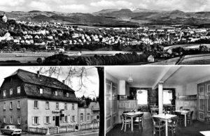 Historisches Bild Umgebung vom Leipziger Hof Fulda
