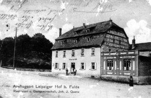 Historisches Bild Ausflugsort Leipziger Hof Fulda