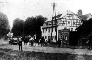 Historisches Bild Außenansicht vom Leipziger Hof Fulda